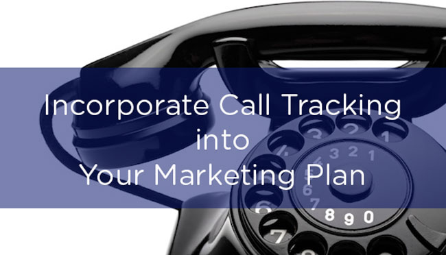 Incorporating Call Tracking