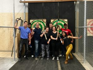 Adster Team Axe Throwing