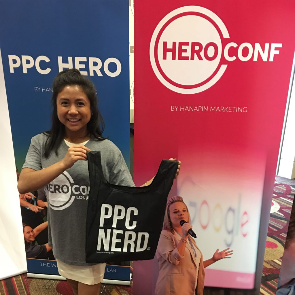 Libby at Hero Conf