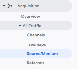 find source medium