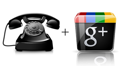 Google+ Local Phone Support