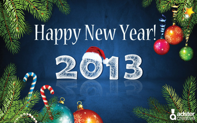 Happy 2013 New Year!